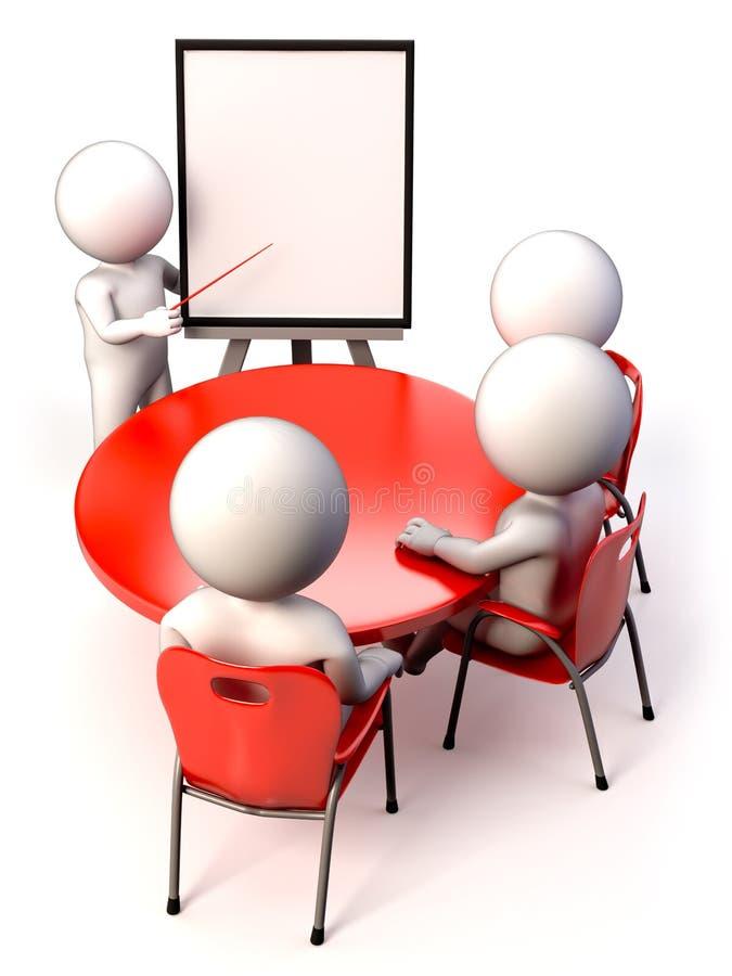 Sitzung stock abbildung