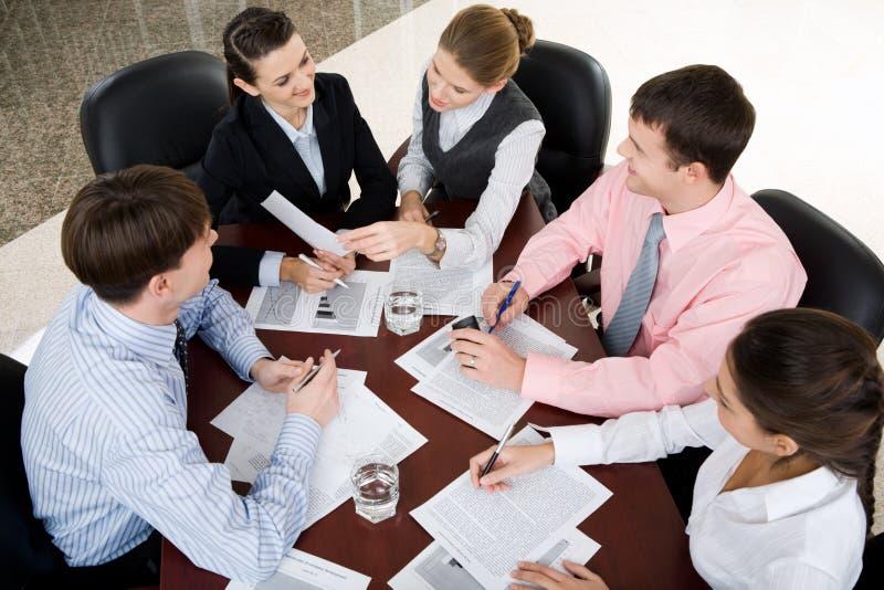 Sitzung stockbilder