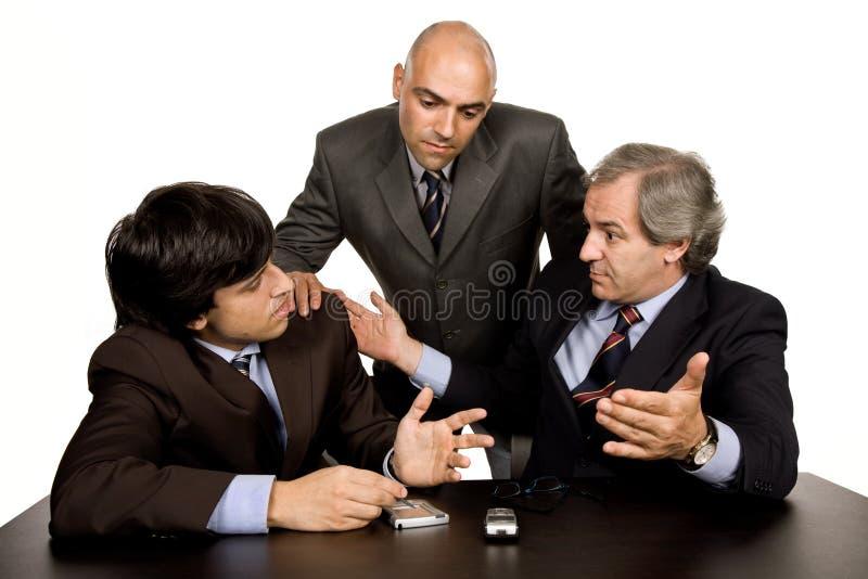 Sitzung stockfotos