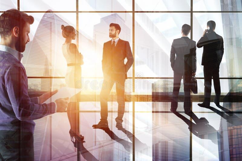 Sitzungs- und Teamwork-Konzept stockfoto