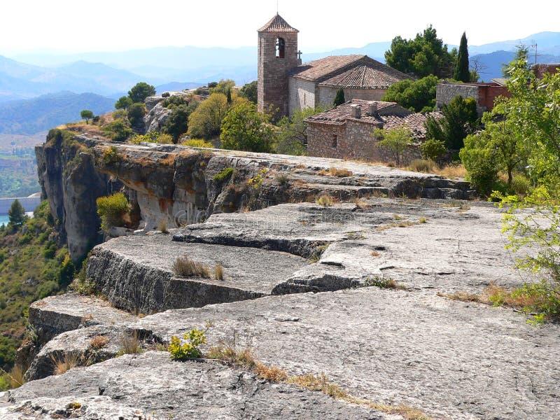 Siurana (España) foto de archivo libre de regalías
