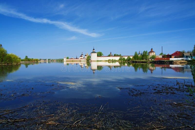 Download Siverskoye Lake And Kirillo-Belozersky Monastery Stock Image - Image: 14773335