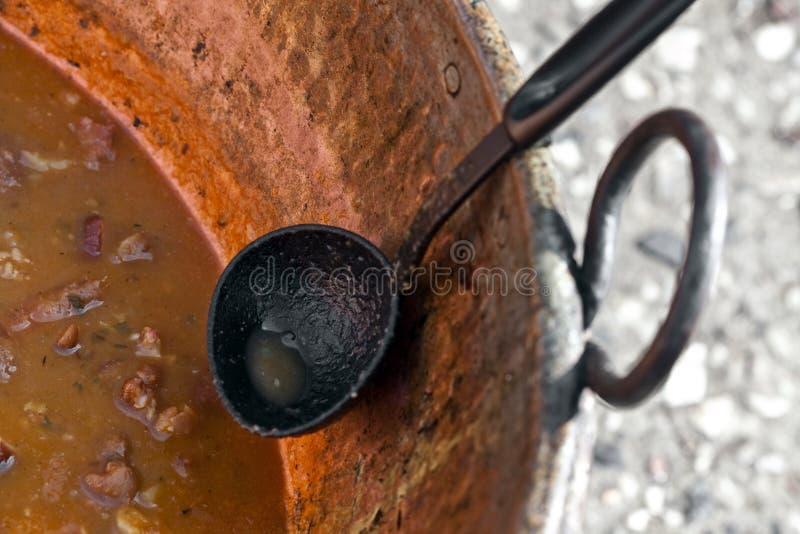 Siviera di minestra fotografie stock libere da diritti