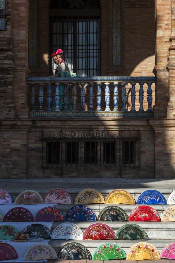 Siviglia, Sevilla, Spagna, Andalusia, penisola iberica, Europa, fotografie stock libere da diritti