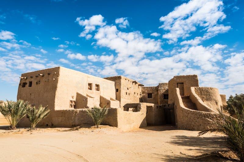 Siwa沙漠绿洲 免版税库存照片