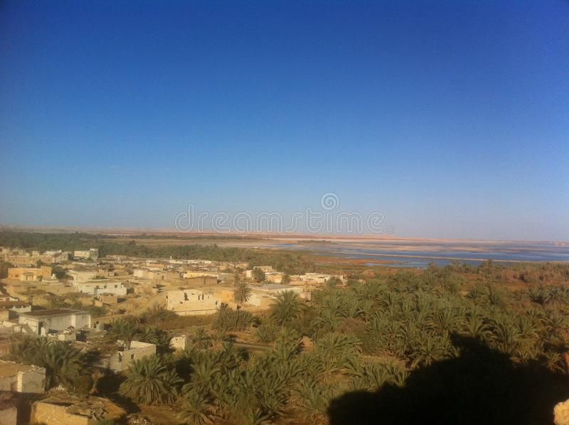 Siwa oaza, Egipt obraz stock