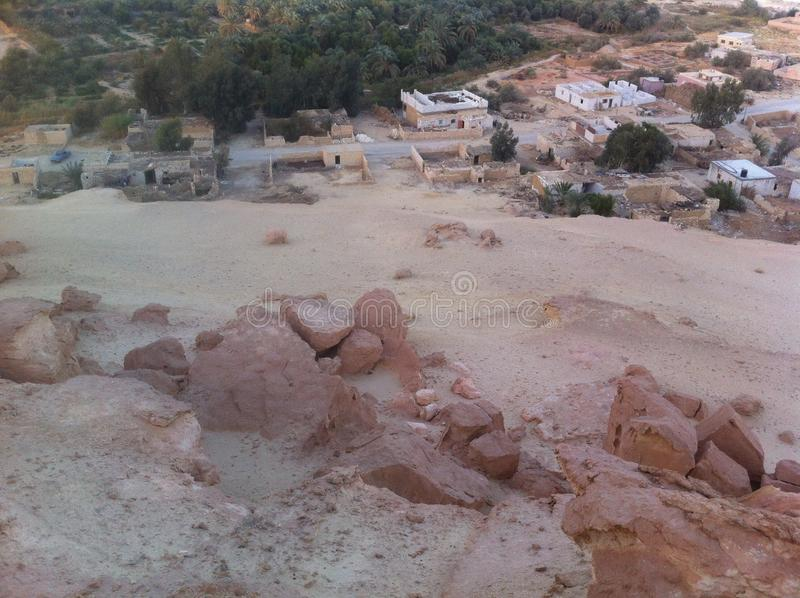 Siwa oaza, Egipt obrazy stock