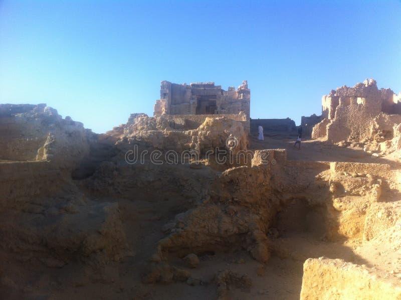 Siwaoase, Egypte royalty-vrije stock foto's