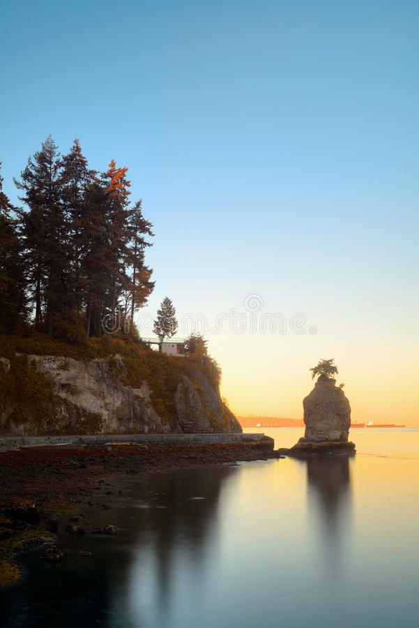 Siwash skała zdjęcie royalty free