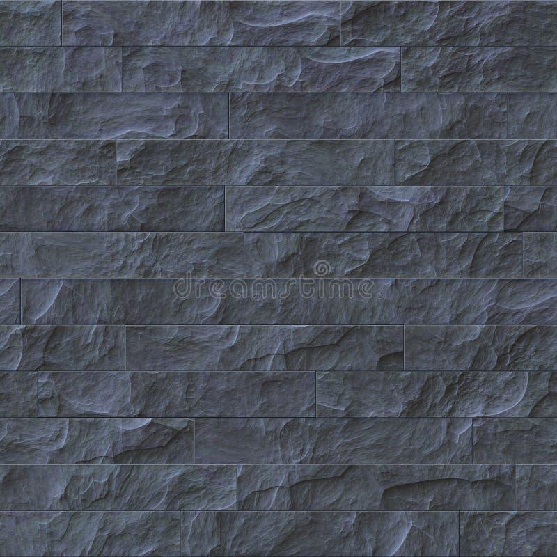Siwieje łupkową teksturę bezszwową royalty ilustracja