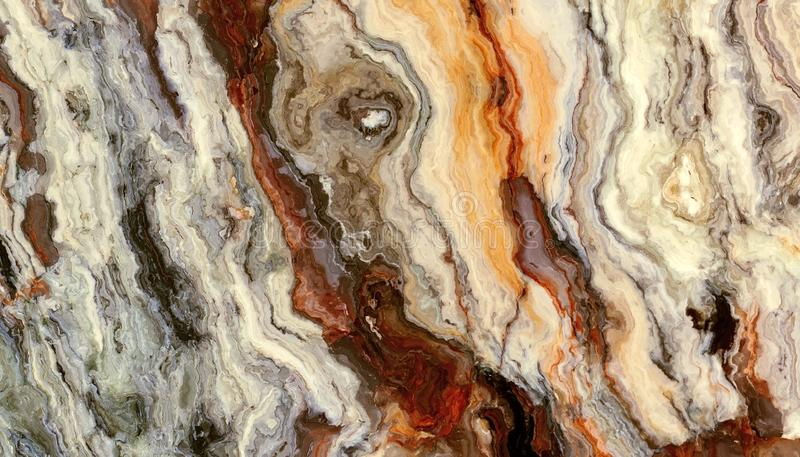 Siwieje kędzierzawą abstrakta marmuru teksturę ilustracja wektor
