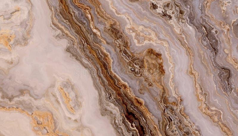 Siwieje kędzierzawą abstrakta marmuru teksturę zdjęcia stock