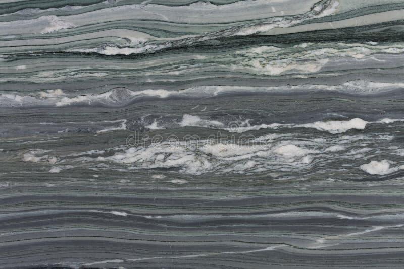 Siwieje marmurowego tekstury lub abstrakta tło na makro- obraz royalty free
