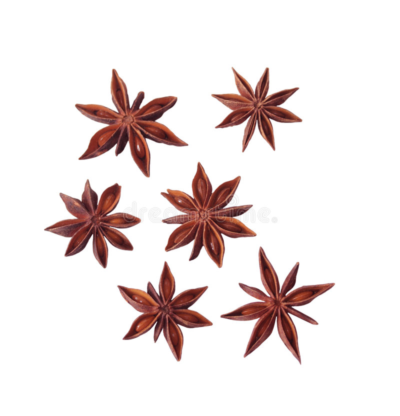 Download Six Anise Flowers Stock Photos - Image: 5024593