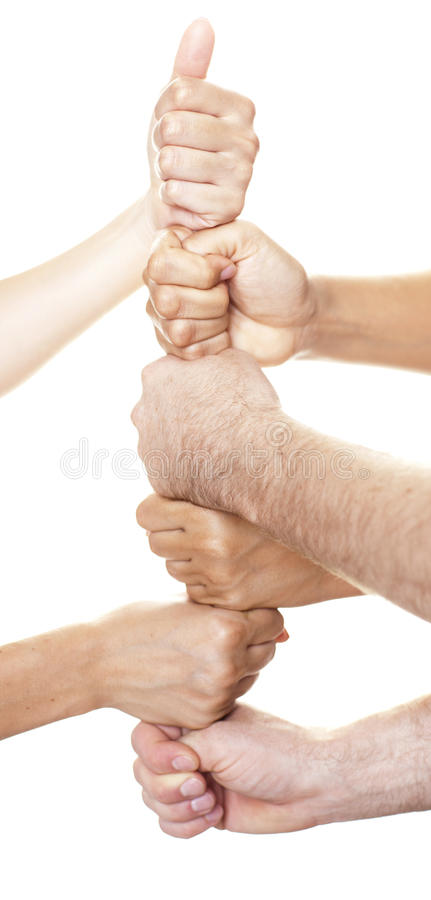 Download Six fists stacked stock photo. Image of team, friends - 20850032