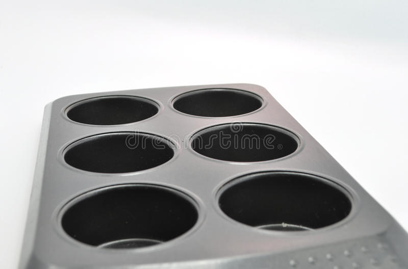 Download Six Holed Muffing Baking Tray Stock Image - Image of drainer, handle: 37185477