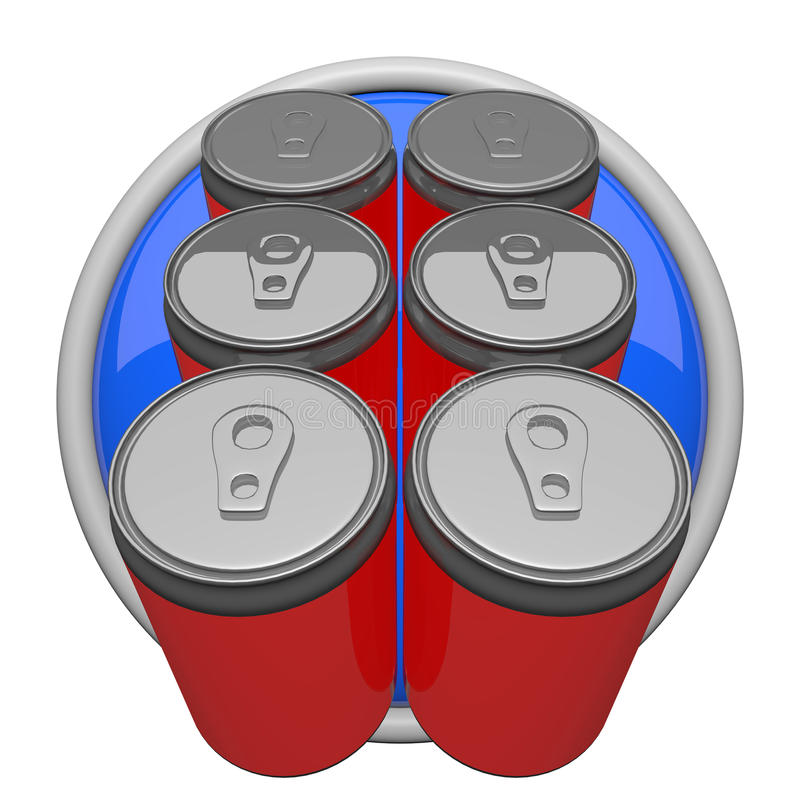 Download Six Pack of Soda stock illustration. Image of beverage - 23191264