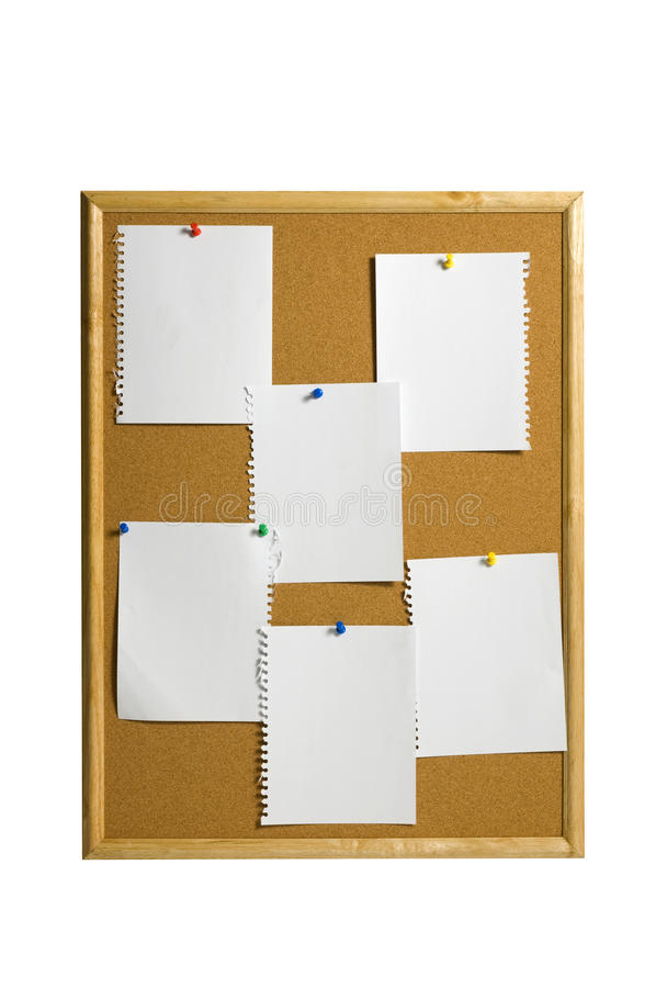 Six Sheets Of Papers stock photos