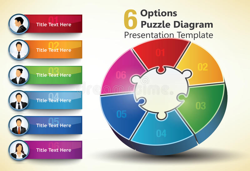 Download Six Sided Presentation Template Royalty Free Stock Image - Image: 31589826