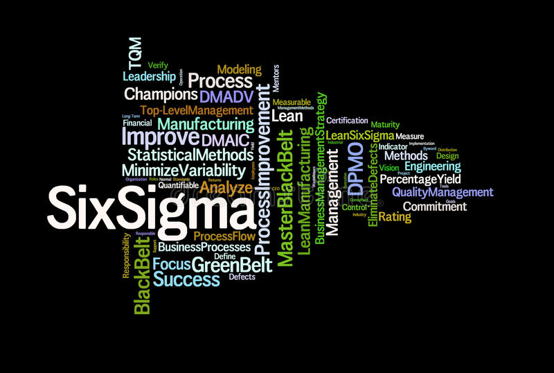 Download Six Sigma stock illustration. Illustration of business - 22226450
