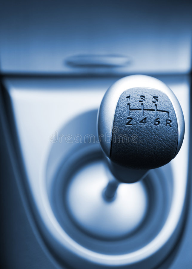 Download Six speed gear stick stock photo. Image of chrome, lever - 2942044