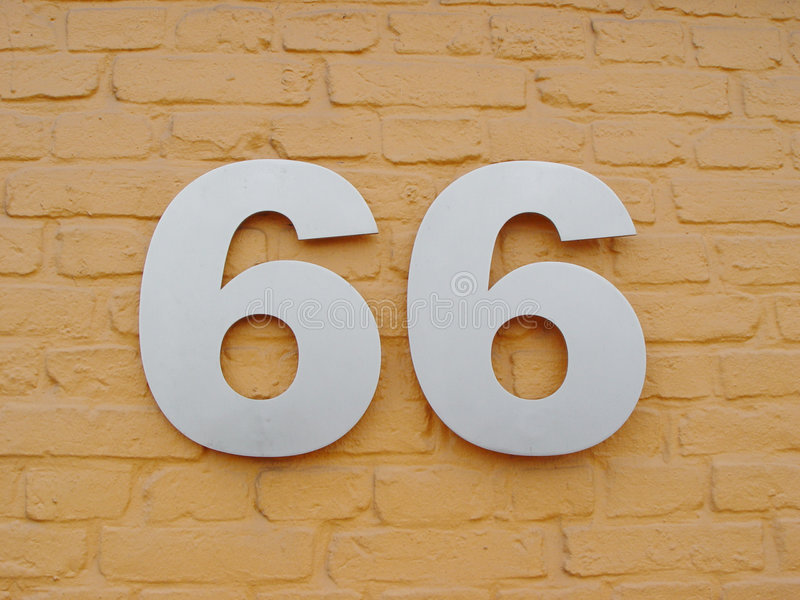 Download Sixtysix stock photo. Image of wall, numbers, bricks, backgrounds - 18362