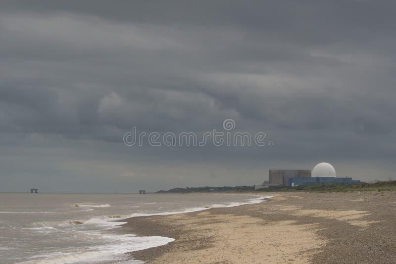 Sizewell b elektrownia jądrowa obraz royalty free