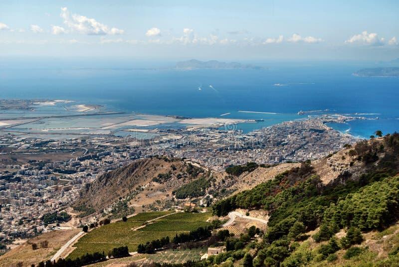 Sizilianische Landschaft lizenzfreie stockfotos