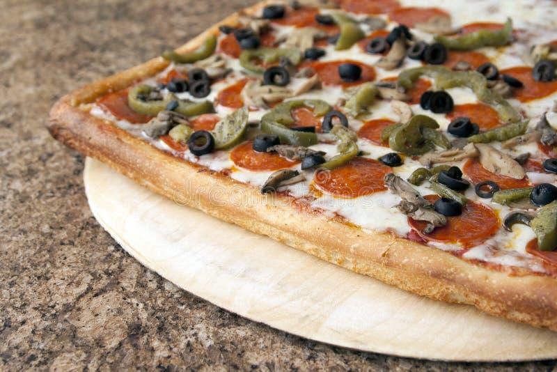 Sizilianische Pizza stockfotos