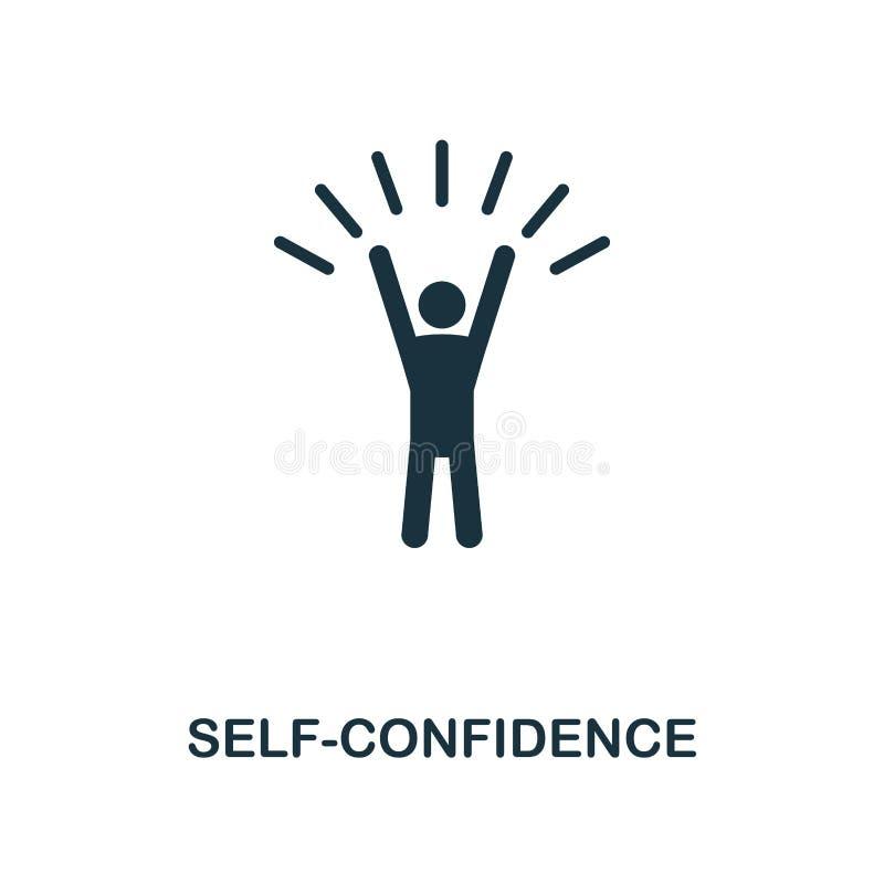 Själv-befordran idérik symbol Enkel beståndsdelillustration Design för Själv-befordran begreppssymbol från mjuk expertissamling P stock illustrationer