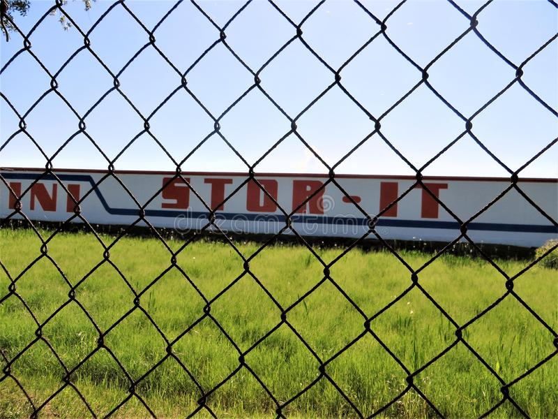 Självlagringslätthet, Tampa, Florida arkivfoto
