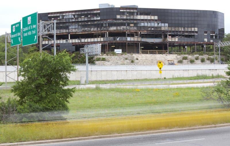 självmord texas för efterdyningattackaustin nivå royaltyfri foto
