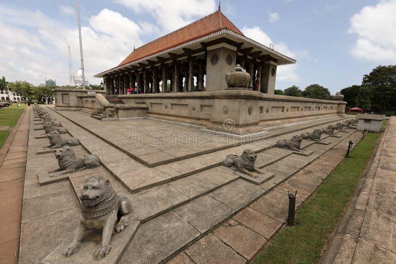Självständighet Hall av Colombo i Sri Lanka royaltyfri fotografi