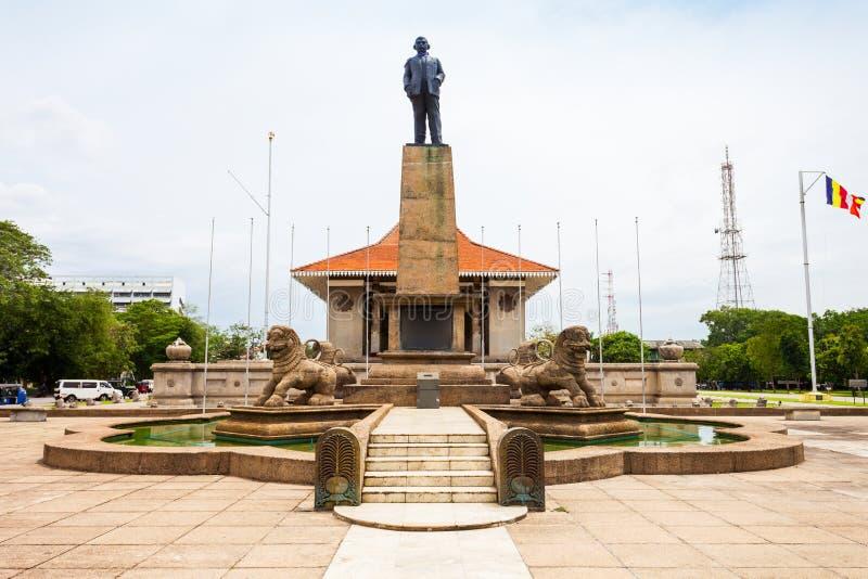 Självständighet Memorial Hall, Colombo royaltyfria foton