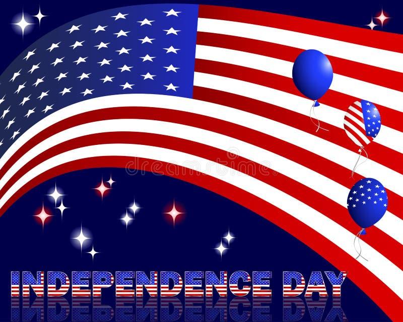 Självständighetsdagen. arkivfoton