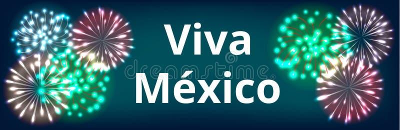 Självständighetsdagen av Mexico royaltyfri illustrationer