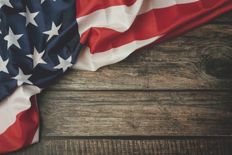 Sj?lvst?ndighetsdagen Juli 4th, amerikanska flaggan fotografering för bildbyråer