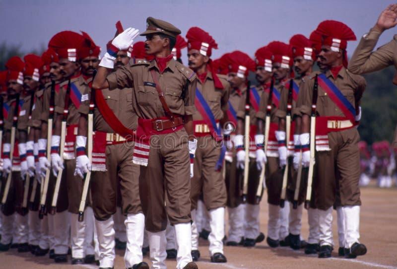 Självständighetsdagen ståtar av Indien arkivbild