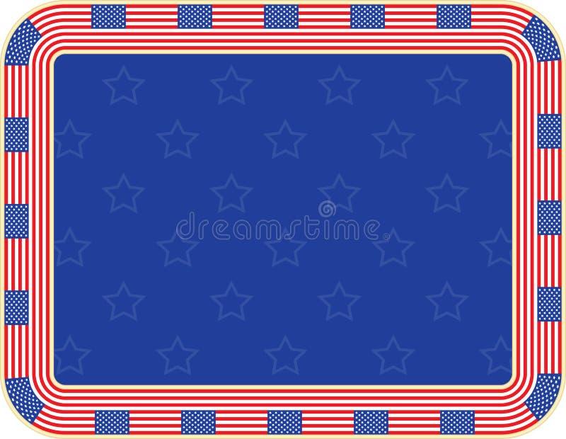 Självständighetsdagenbakgrund stock illustrationer
