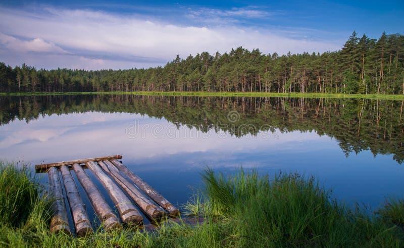 Sjö i Estland arkivbilder