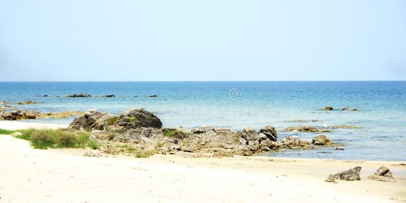 Sjö Malawi på en klar sommardag royaltyfria bilder