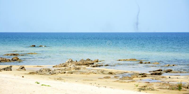Sjö Malawi på en klar sommardag royaltyfria foton