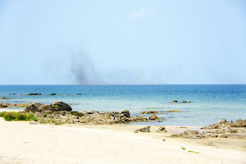 Sjö Malawi på en klar sommardag arkivfoton