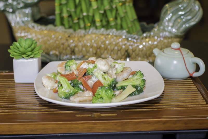 Sjö Tung Ting Shrimp royaltyfria bilder
