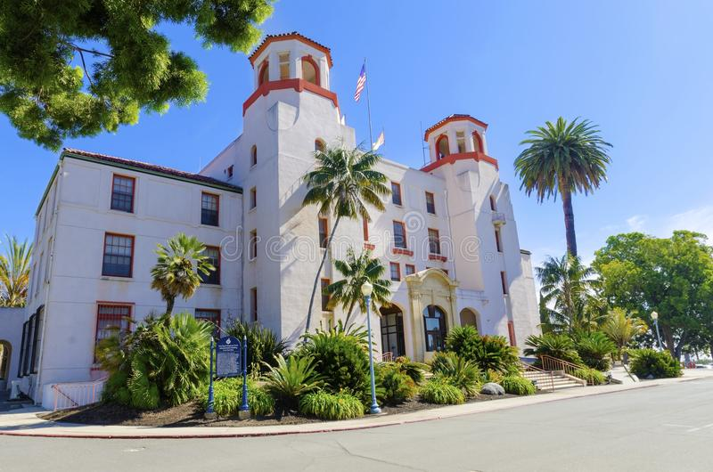 Sjö- vårdcentral San Diego fotografering för bildbyråer