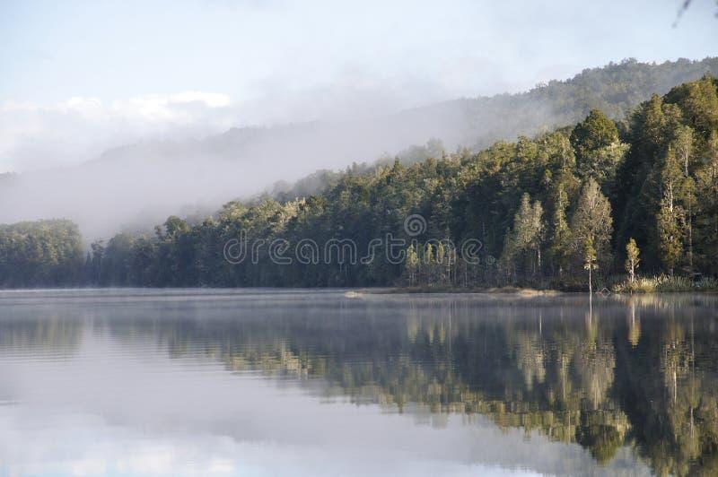 SjöHaupiri morgon arkivbild