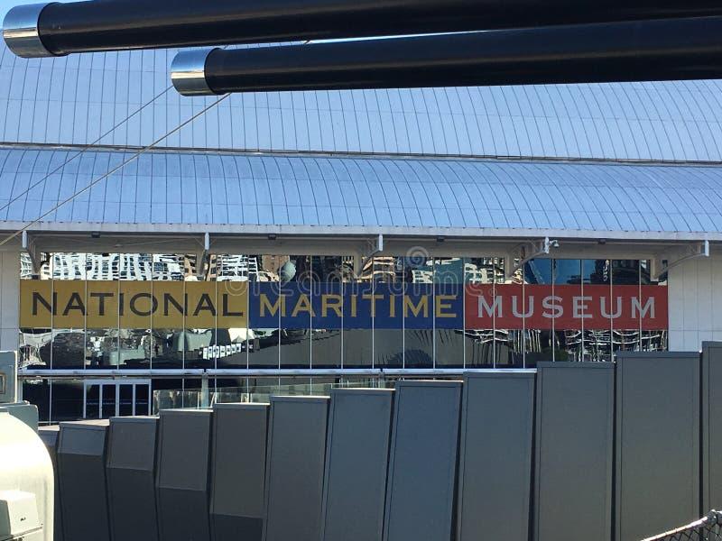 Sjöhistoriska museet Darling Harbour royaltyfri bild