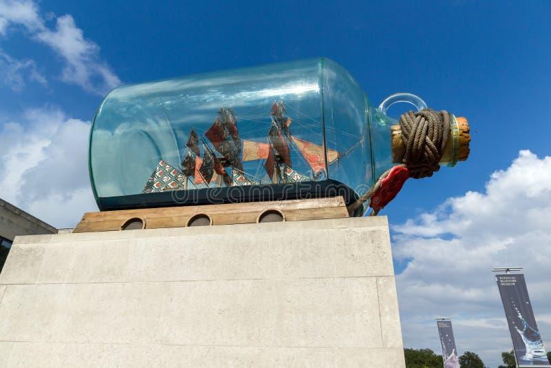 Sjöhistoriska museet i Greenwich, London, England, Storbritannien royaltyfri bild