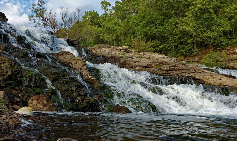 SjöMacBride vattenfall royaltyfri fotografi