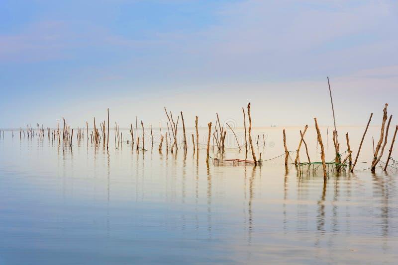 Sjön är tom royaltyfria bilder